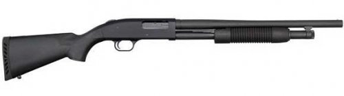 Mossberg 500 Shotgun. A great hunting weapon for turkey and waterfowl.